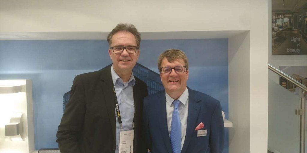 Reinhard Houben und Dr. Oliver Everling